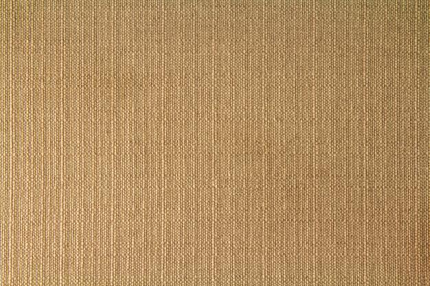 Natürliche gewebeleinenstruktur für design, sackleinen gemasert. brown-segeltuchhintergrund. baumwolle. Premium Fotos