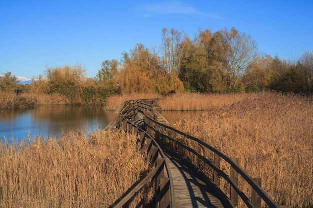 Naturschutzgebiet des valle canal novo Premium Fotos