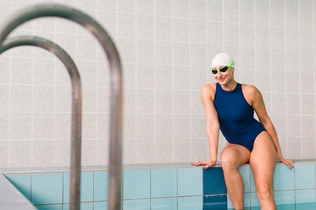 Nette berufsschwimmeraufstellung Kostenlose Fotos
