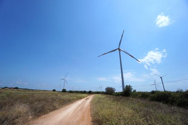 Neue windparks zur stromerzeugung Premium Fotos