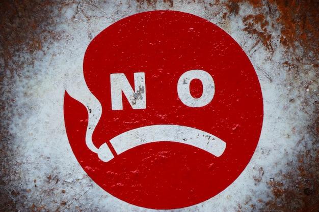 Nichtraucher-schild Premium Fotos