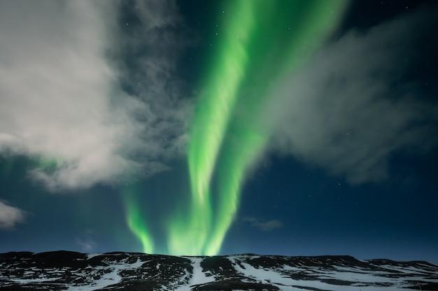 Nordlichter aurora borealis Premium Fotos