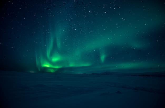 Nordlichter Premium Fotos