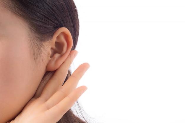 Nosy neugier ohr junge interessant Kostenlose Fotos