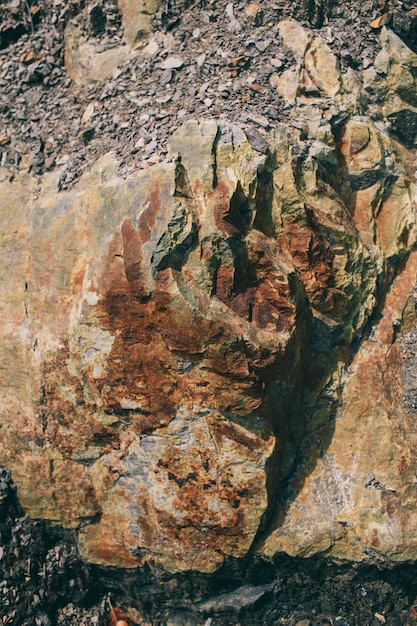 Oberfläche des marmors mit brauntönung stones textur und hintergrund rock textur Premium Fotos