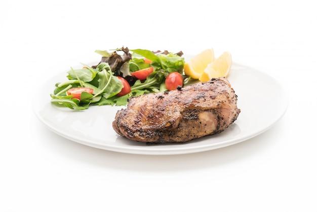 Oberschenkel hähnchen steak Kostenlose Fotos