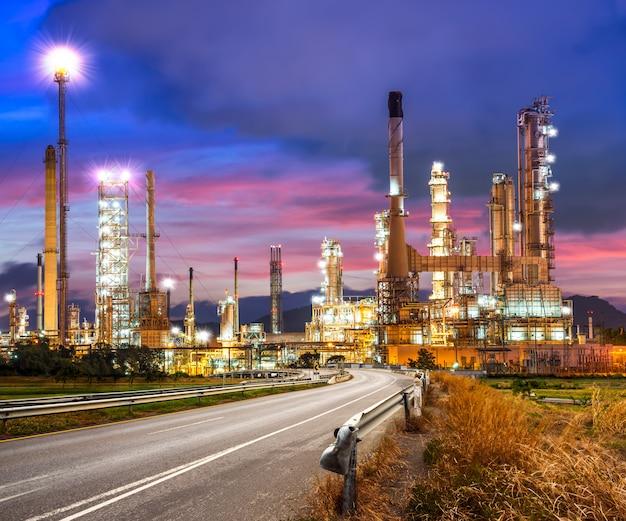 Ölraffinerie Premium Fotos