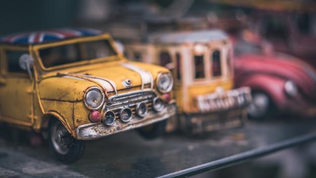Oldtimer-modell Premium Fotos