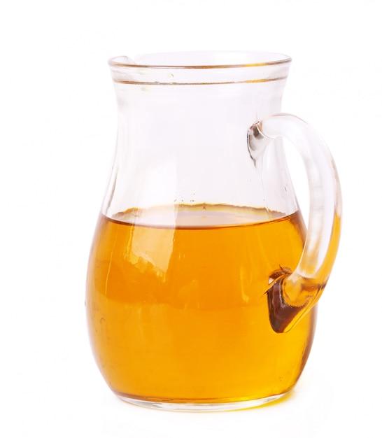 Olivenöl im glas Kostenlose Fotos