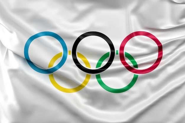 Olympia-flagge Kostenlose Fotos