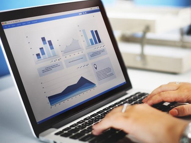 Online-börsen-team Premium Fotos