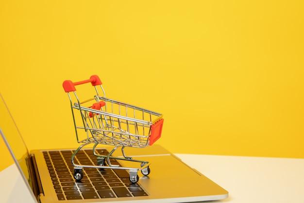 Online einkaufen Premium Fotos