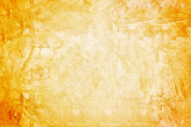 Orange wand- und ausstellungsraumhintergrund für darstellungsprodukt Premium Fotos