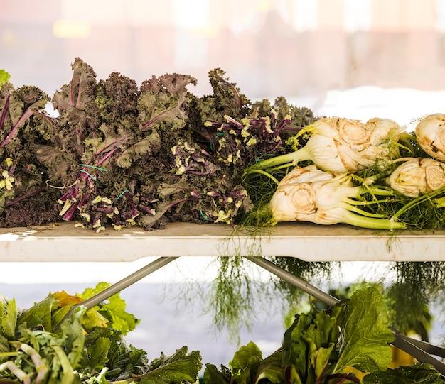 Organisches frisches landwirtschaftliches produkt am landwirtmarkt Kostenlose Fotos