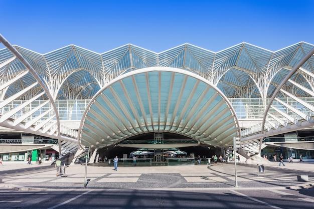 Oriente station, lissabon Premium Fotos