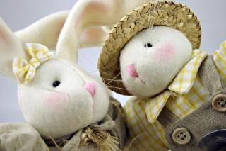 Osterhasen closeup, gefüllt Kostenlose Fotos