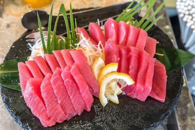 Otoro thunfisch-sashimi Premium Fotos