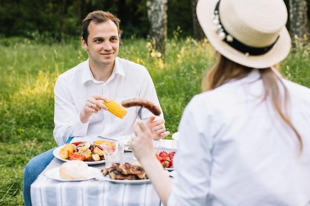 Picknick Und Harter Sex In Der Natur