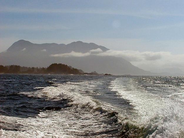Pacific reise vancouver wellen boot insel Kostenlose Fotos