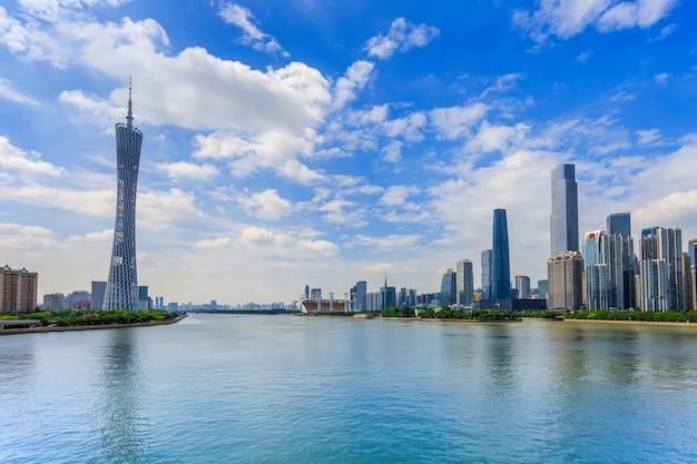 Panorama fluss skyline chinesischen rahmen Kostenlose Fotos