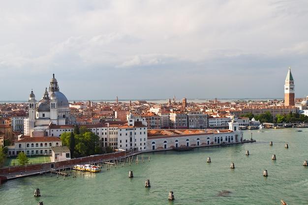Panorama von venedig Premium Fotos