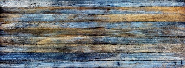 Panoramischer schmutzhintergrund von alten hölzernen planken Premium Fotos