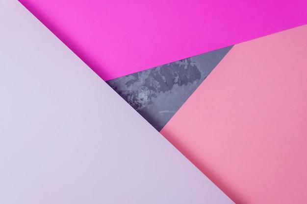 Papier strukturierten hintergrund. abstrakte farbe geometrische gestaltung. Premium Fotos
