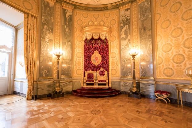 Parlament schloss christiansborg Premium Fotos