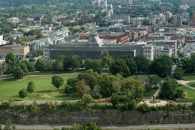 Parlamentsbibliothek, parliament hill, ottawa, ontario, kanada Premium Fotos