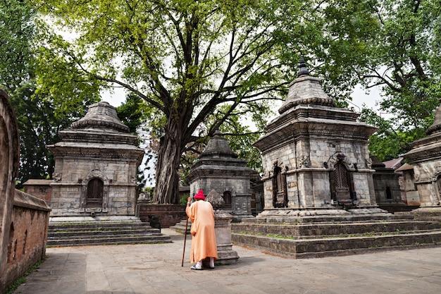 Pashupatinath tempel Premium Fotos