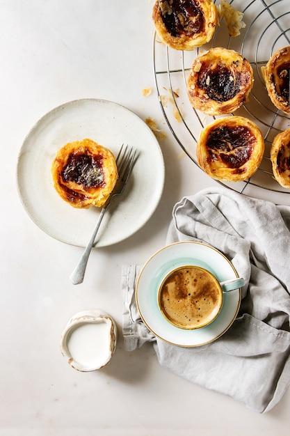 Pasteis de nata Premium Fotos