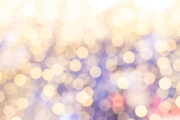 Pastell-bokeh-hintergrund des schönen lichts. weihnachtskonzept. Premium Fotos