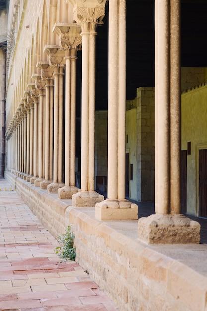 Pedralbes-kloster in barcelona. Premium Fotos