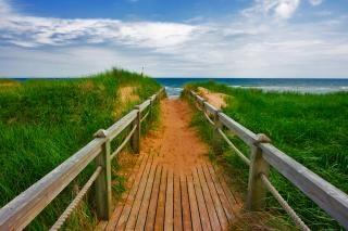 Pei strandpromenade insel Kostenlose Fotos