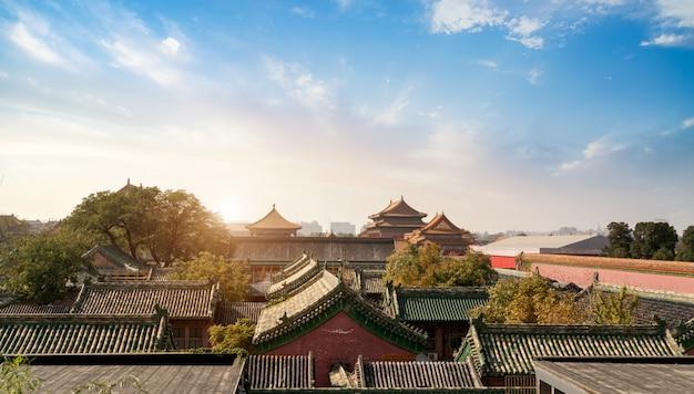 Peking, china verbotene stadt Premium Fotos