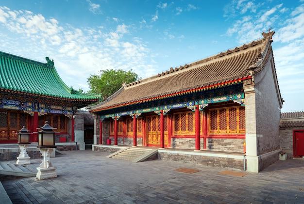 Peking-hof in der qing dynastie Premium Fotos