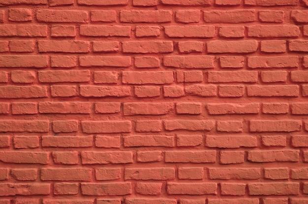 Persische rote farbige alte backsteinmauer für hintergrund Premium Fotos