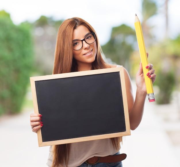Person college denken frauen suchen | Kostenlose Foto