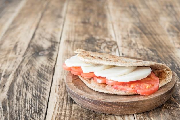 Piadina typisches italienisches essen Premium Fotos