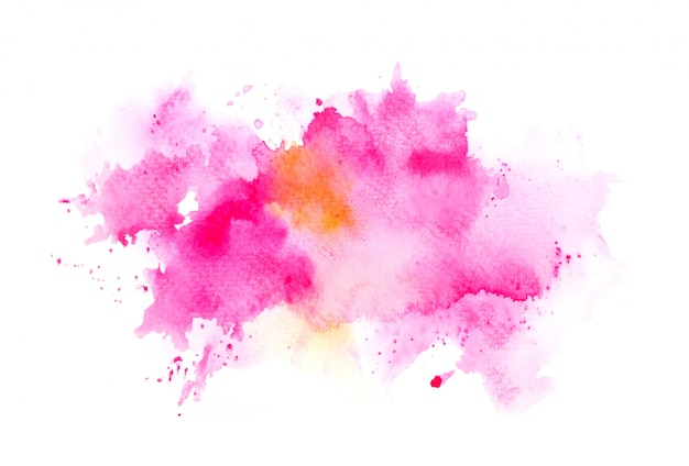 Pinsel rosa aquarell Premium Fotos