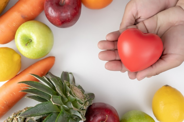 Plan für gesunde ernährung diätplan gewichtsverlust Premium Fotos