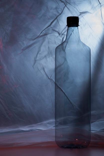 Plastikflasche in plastiktüte Kostenlose Fotos