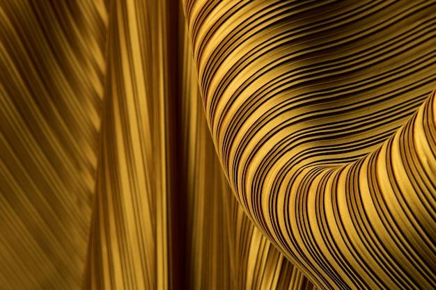 Plissee stoff in langen schlangen mit schatten drapieren Premium Fotos
