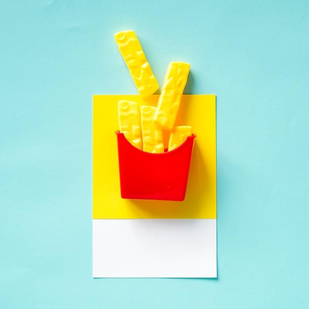 Pommes-frites-schnellimbissspielzeug Kostenlose Fotos