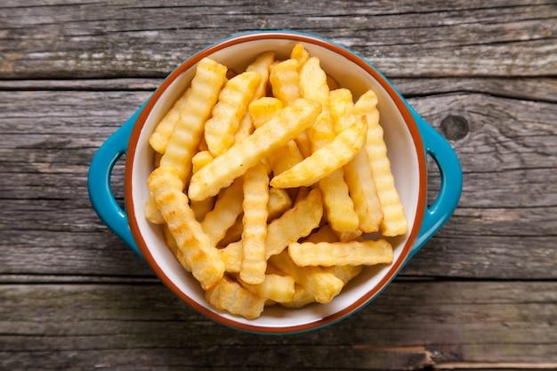 Pommes frittes Premium Fotos