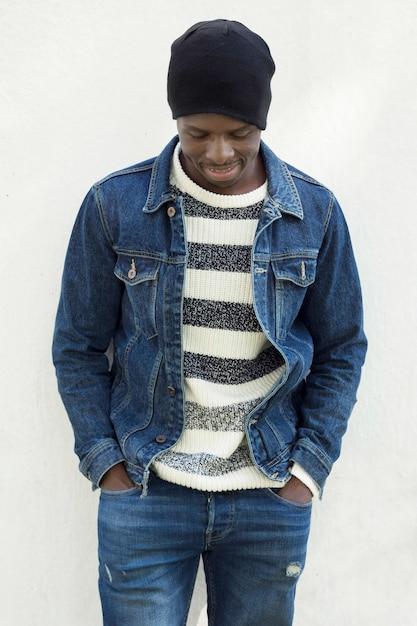 Porträt des afroamerikanischen mannes Kostenlose Fotos