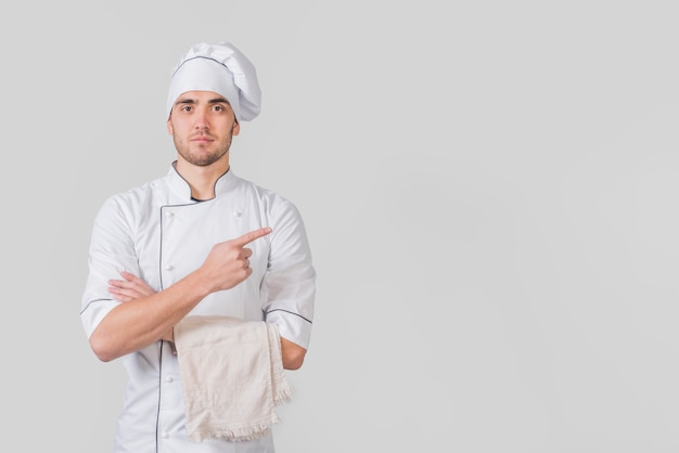 Porträt des chefs copyspace darstellend Kostenlose Fotos