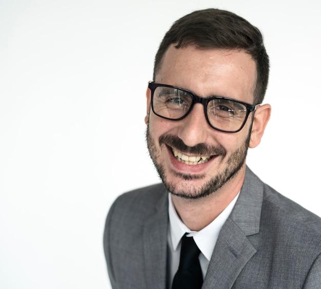 Portrait eines adretten schauenden mannes Premium Fotos