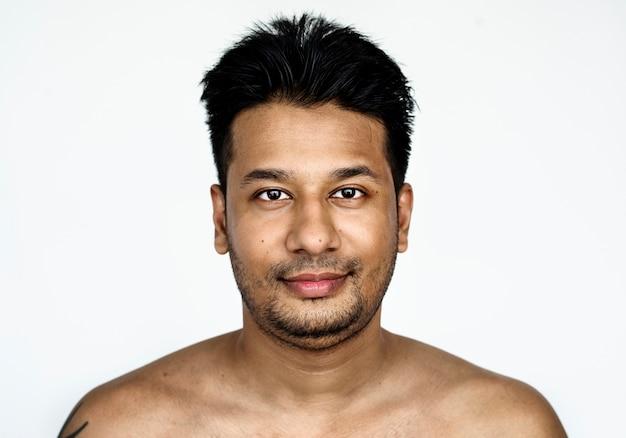 Portrait eines bangladeschischen mannes Kostenlose Fotos