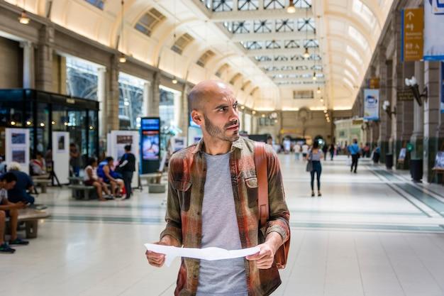 Portrait stattlicher mann beratung karte Kostenlose Fotos